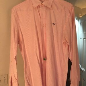 Vineyard Vines Whale Shirt (Pink)